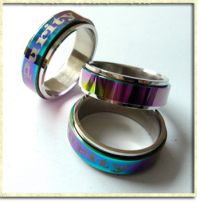 Multi-Colored Purity Spinner Purity Ring