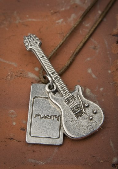 Purity Guitar Necklace - Click Image to Close