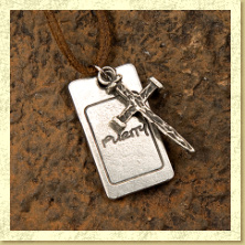 Purity Cross Necklace - Click Image to Close