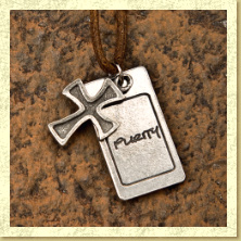 Purity Cross Necklace 2 - Click Image to Close